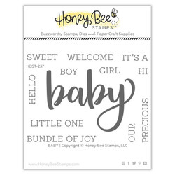 Baby, Honey Bee Clear Stamps - 652827604031