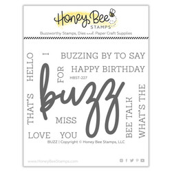 Buzz, Honey Bee Clear Stamps - 652827603904