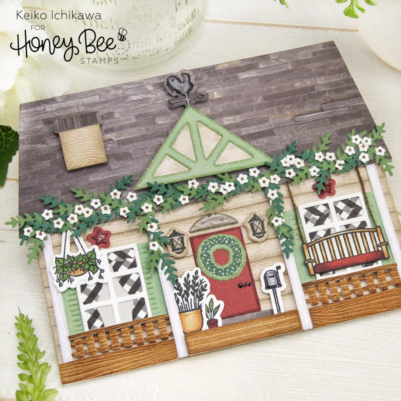 Farmhouse Add-On, Honey Bee Clear Stamps - 652827604116