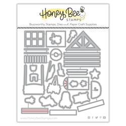 Farmhouse Add-On, Honey Cuts Dies - 652827603720