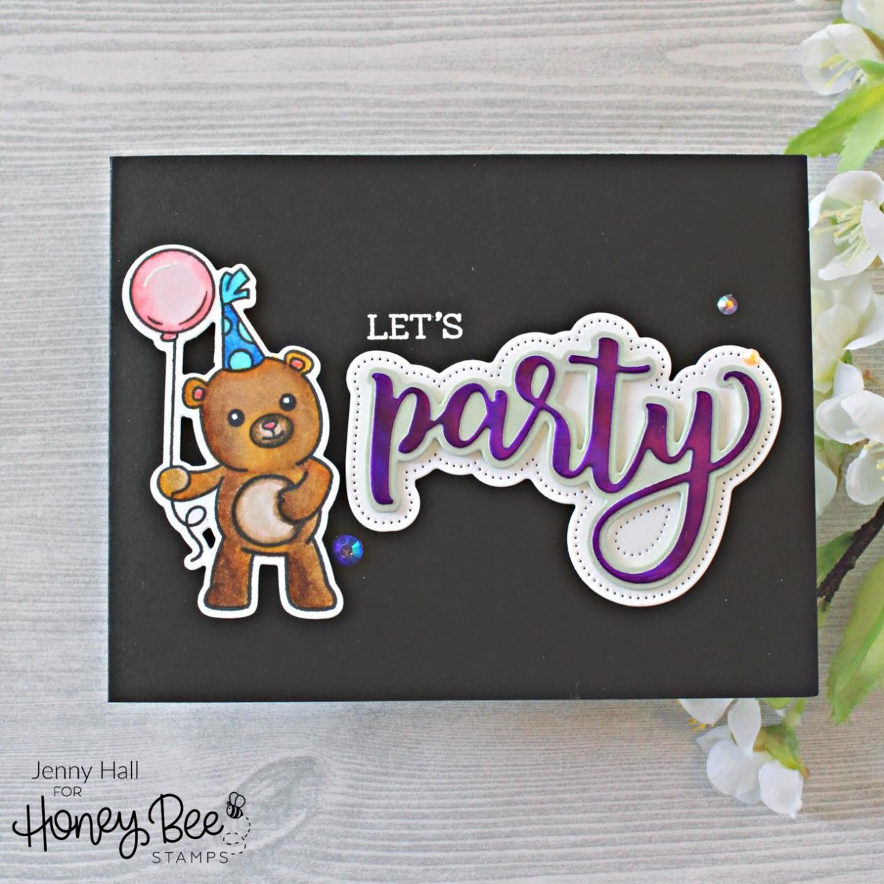 Party, Honey Bee Clear Stamps - 652827603928