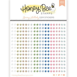Spring Lullaby Gems, Honey Bee Stickers - 652827602655