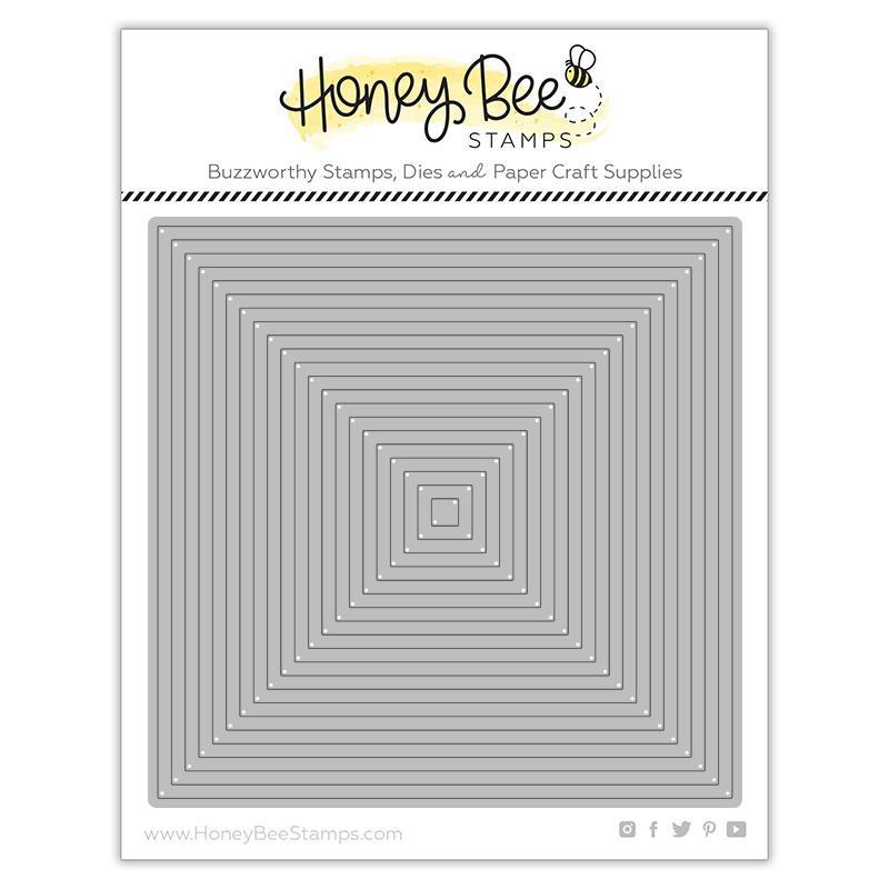 Square Thin Frames, Honey Cuts Dies - 652827604017