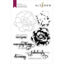 Amazing Things, Altenew Clear Stamps - 737787264782