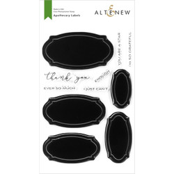 Apothecary Labels, Altenew Clear Stamps - 737787264836