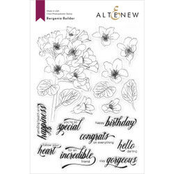 Bergenia Builder, Altenew Clear Stamps - 737787264843