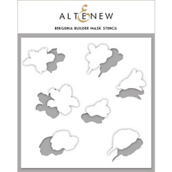 Bergenia Builder, Altenew Mask Stencil - 737787264867