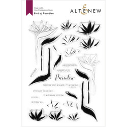 Bird of Paradise, Altenew Clear Stamps - 737787264898