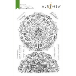 Blooming Mandalas, Altenew Clear Stamps - 737787264911