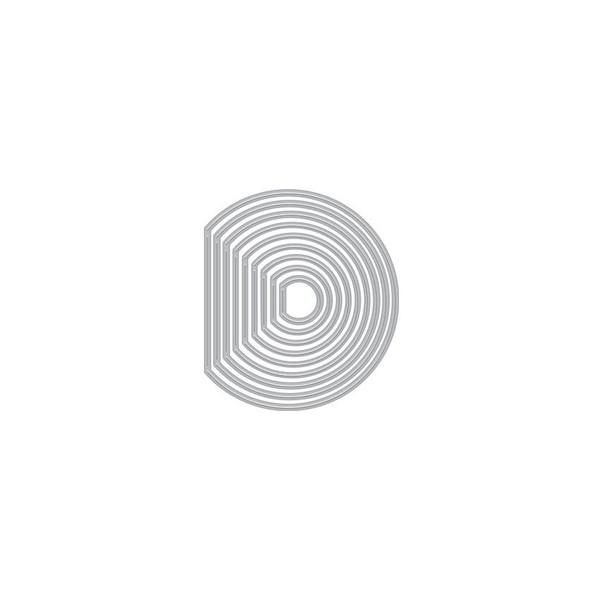 Circle Peek-A-Boo Doors Mini Infinity, Hero Arts Dies - 085700927048