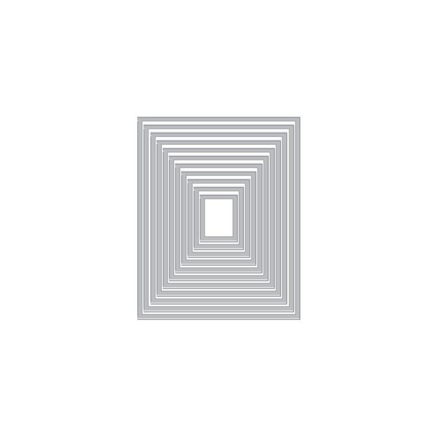 Rectangle Peek-A-Boo Doors Mini Infinity, Hero Arts Dies - 085700927062
