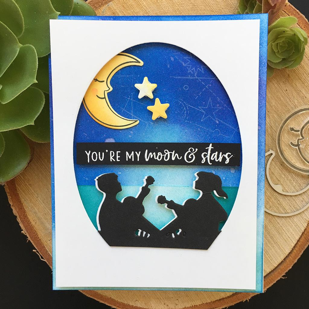 You're My Universe, Hero Arts Clear Stamps - 085700927208