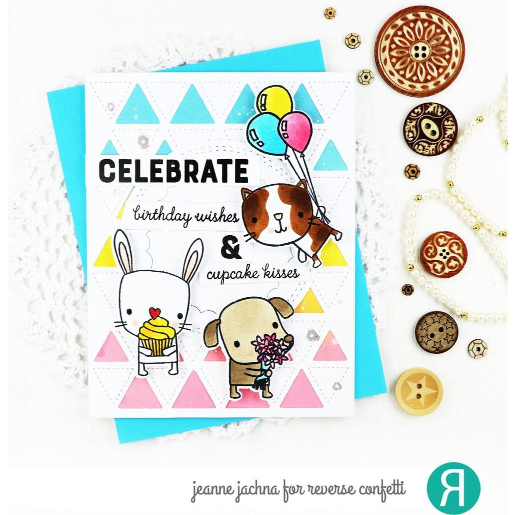 Party Pals, Reverse Confetti Cuts -