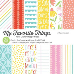 Fun in the Sun, My Favorite Things Paper Pack - 849923035160