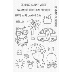 Sunny Vibes, My Favorite Things Clear Stamps - 849923035436