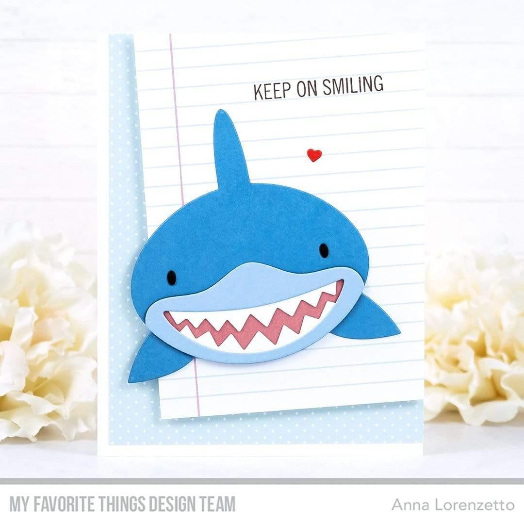 Sharky Sentiments, My Favorite Things Clear Stamps - 849923035412