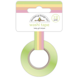 Baby Girl Stripes, Doodlebug  Washi Tape -