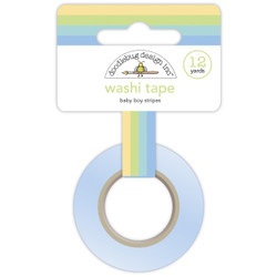 Baby Boy Stripes, Doodlebug  Washi Tape -
