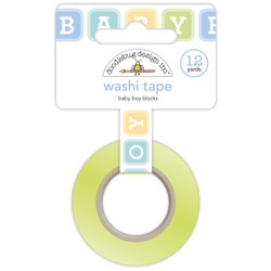 Baby Boy Blocks, Doodlebug  Washi Tape -