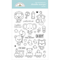 Toy Box, Doodlebug Clear Stamps -