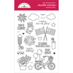 Land That I Love, Doodlebug Clear Stamps -