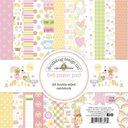 Bundle of Joy, Doodlebug 6 X 6 Paper Pad -