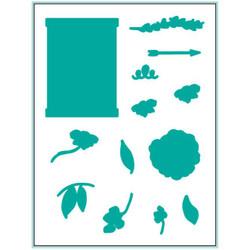 Free to Flourish, Gina K Designs Dies - 609015526606