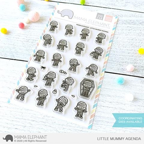 Little Mummy Agenda, Mama Elephant Clear Stamps -