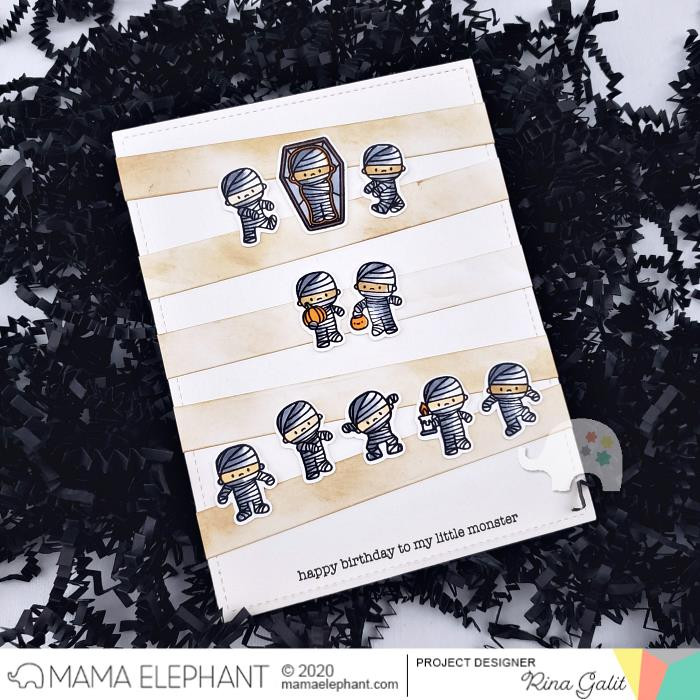 Quick Stripes, Mama Elephant Creative Cuts -