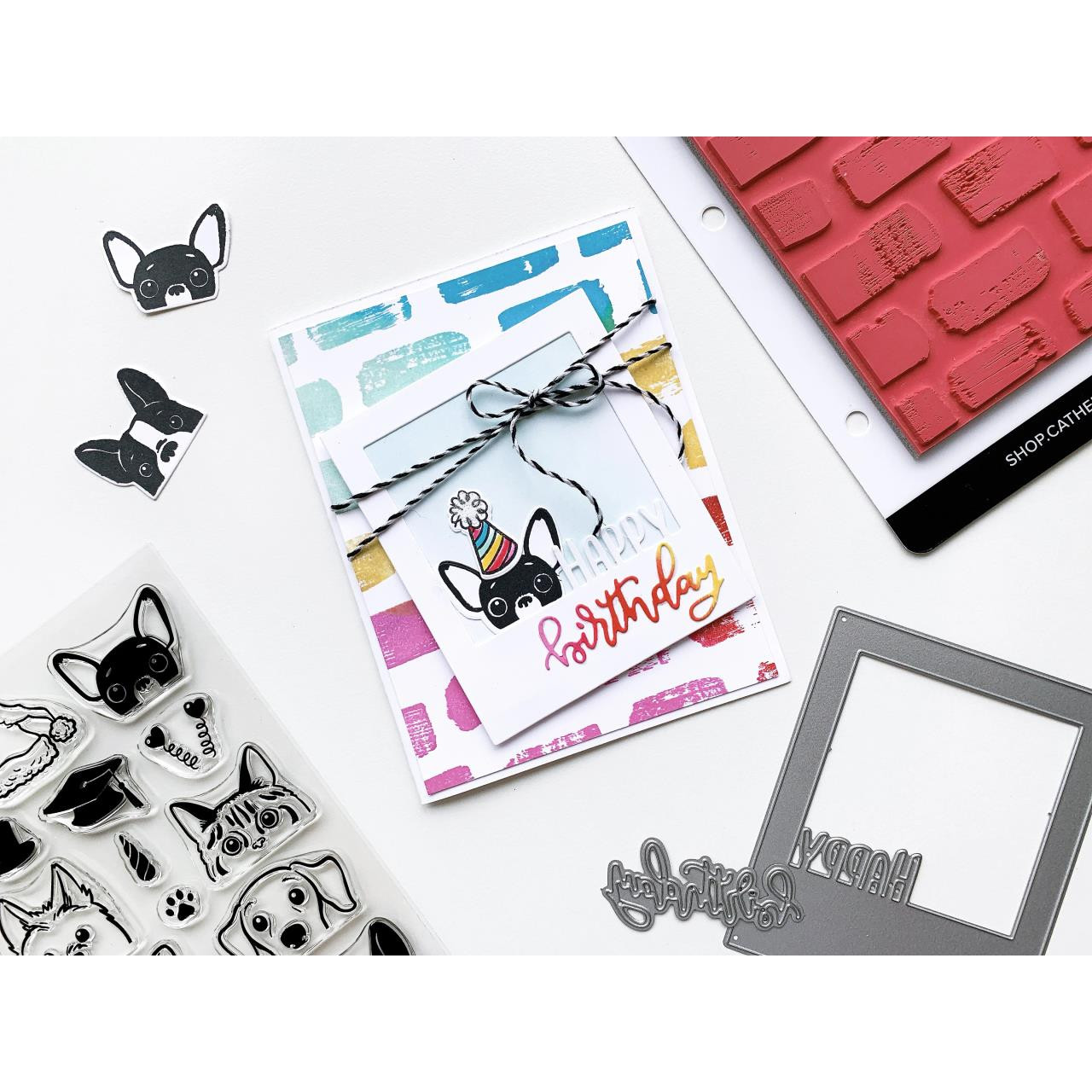 Peeking Pets, Catherine Pooler Clear Stamps - 819447025787