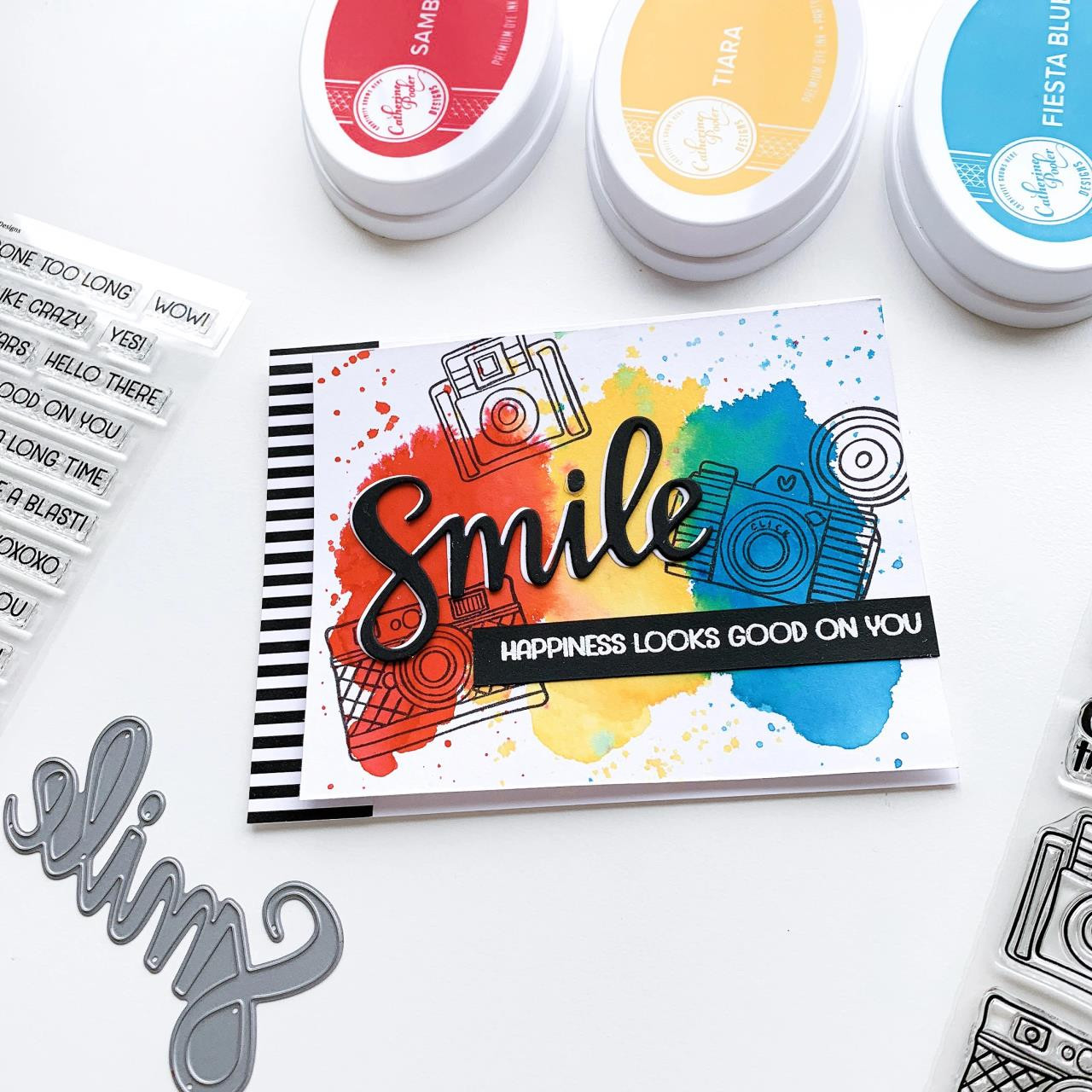 One Liners Sentiments, Catherine Pooler Clear Stamps - 819447026449
