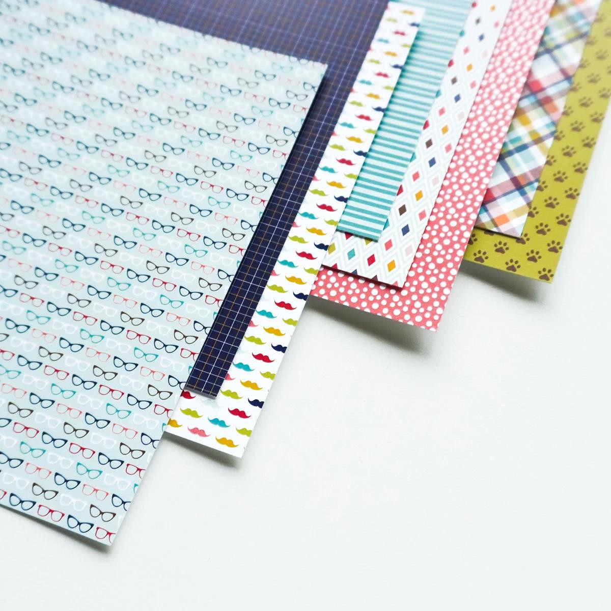 Hipster, Catherine Pooler Patterned Paper - 819447027972