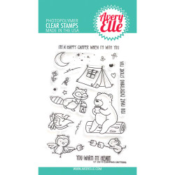 Camping Critters, Avery Elle Clear Stamps - 811568028623