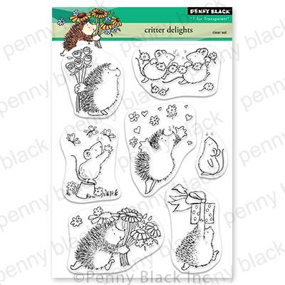 Critter Delights, Penny Black Clear Stamps - 759668307111