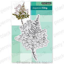 Illustrious, Penny Black Cling Stamps - 759668407248