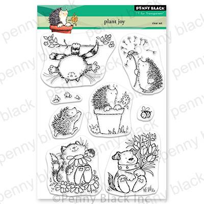 Plant Joy, Penny Black Clear Stamps - 759668307081