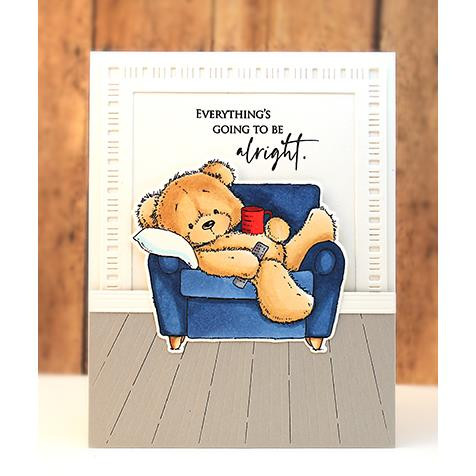 Unwind, Penny Black Clear Stamps - 759668306718