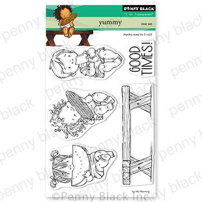 Yummy, Penny Black Clear Stamps - 759668306756