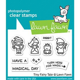 Tiny Fairy Tale, Lawn Fawn Clear Stamps - 035292675520