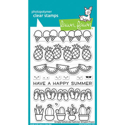 Simply Celebrate Summer, Lawn Fawn Clear Stamps - 035292675605