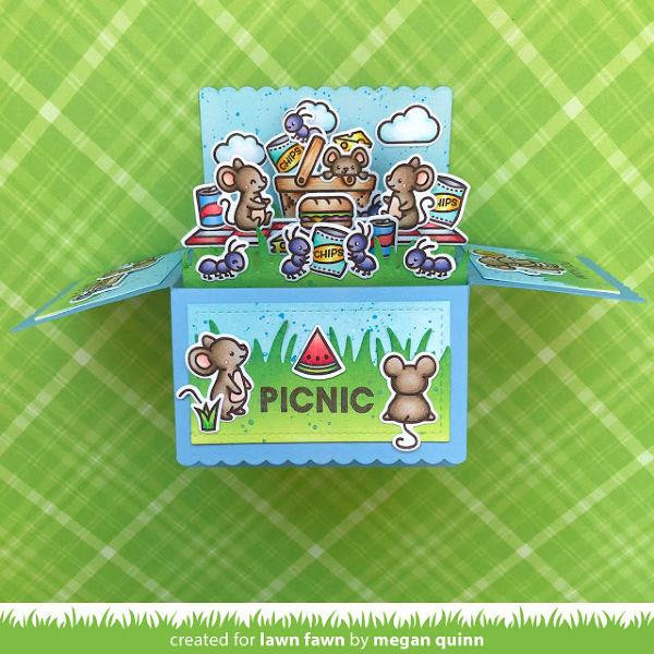 Crazy Antics, Lawn Fawn Clear Stamps - 035292675629