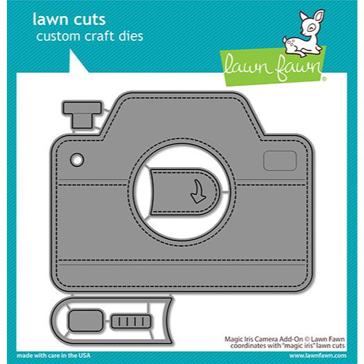 Magic Iris Camera Add-On, Lawn Cuts Dies - 035292675711
