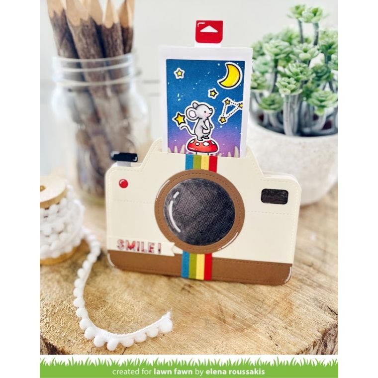 Magic Iris Camera Pull-Tab Add-On, Lawn Cuts Dies - 035292675728
