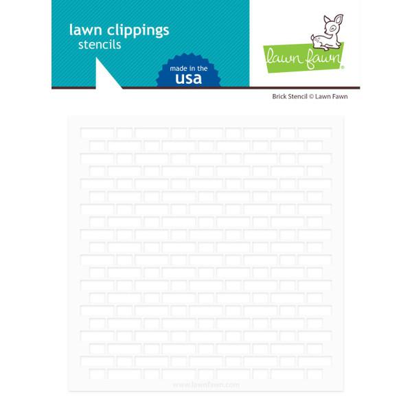 Brick, Lawn Fawn Stencils - 035292675919