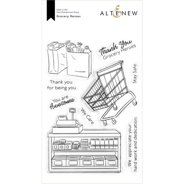Grocery Heroes, Altenew Clear Stamps - 737787266991