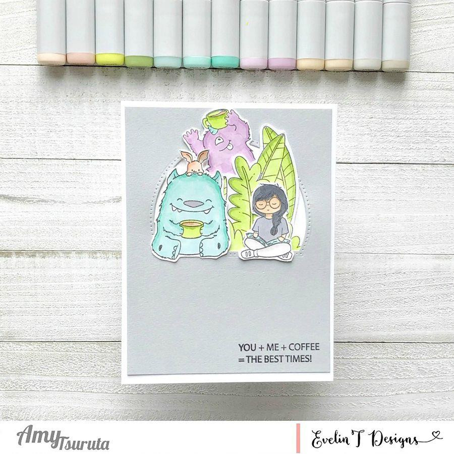 Best Friends Fur-Ever!, Evelin T Designs Clear Stamps -
