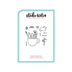 Craftastic, Studio Katia Clear Stamps -