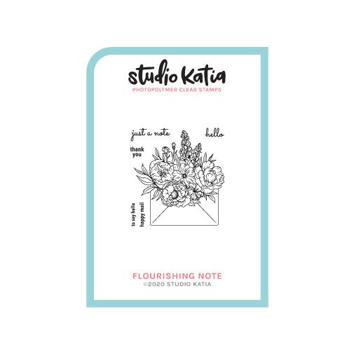 Flourishing Note, Studio Katia Clear Stamps -