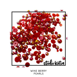 Wine Berry, Studio Katia Pearls -