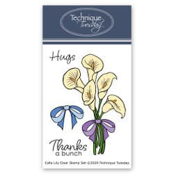 Calla Lily, Technique Tuesday Clear Stamps - 811784028513